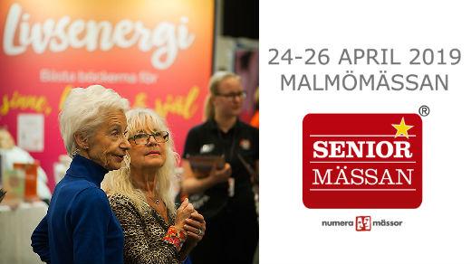 Bild för Seniormässan Malmö, 2019-04-24, Malmömässan