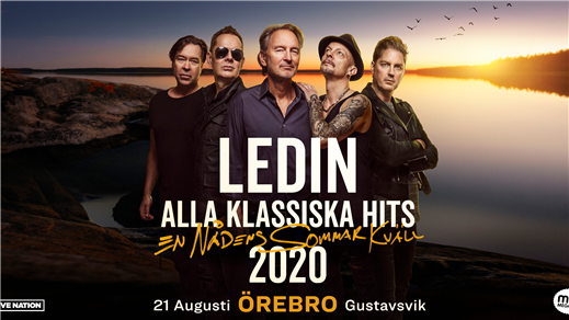 Bild för LEDIN - Alla Klassiska Hits, 2020-08-21, Gustavsvik