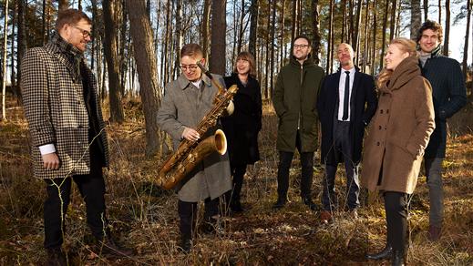Bild för Fredrik Lindborg trio med stråkar, 2020-11-07, Hallsbergs Jazz- och Bluesklubb