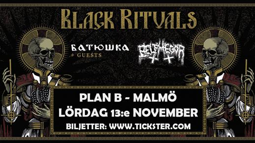 Bild för BATUSHKA / BELPHEGOR + support - Plan B, Malmö, 2021-11-13, Plan B