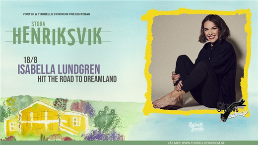 Bild för Isabella Lundgren - Hit the road to Dreamland, 2021-08-18, Stora Henriksvik