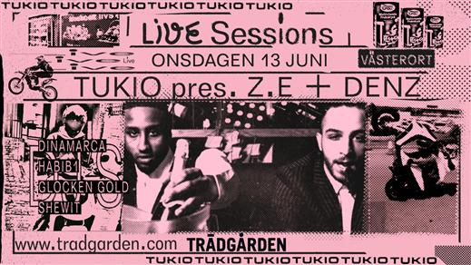 Bild för Live Sessions: Z.E + Denz, 2018-06-13, Trädgården