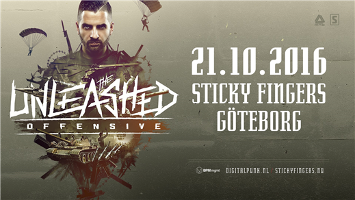 Bild för MND presents: Digital Punk-The Unleashed Offensive, 2016-10-21, Sticky Fingers
