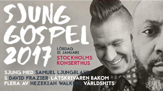Bild för Sjung Gospel, 2017-01-21, Stockholms Konserthus