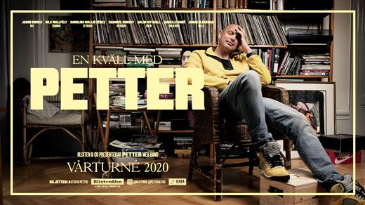 Bild för En kväll med Petter, 2020-02-20, UKK - Stora salen