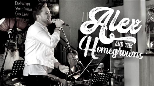 Bild för ALEX & THE HOMEGROWNS live! (max 49 biljetter), 2021-10-29, Biografbaren