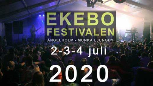 Bild för EKEBOFESTIVALEN 2020, 2020-07-02, Ekebo Nöjescentrum