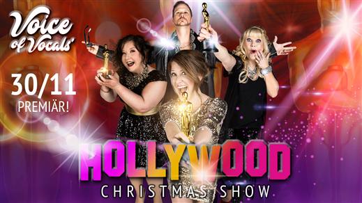 Bild för JULBORD 2018 - HOLLYWOOD CHRISTMAS SHOW 30/11, 2018-11-30, Apollon, Folkets Hus Kulturhuset