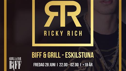 Bild för Ricky Rich på Gränden 28/6, 2019-06-28, Lokomotivet Eskilstuna