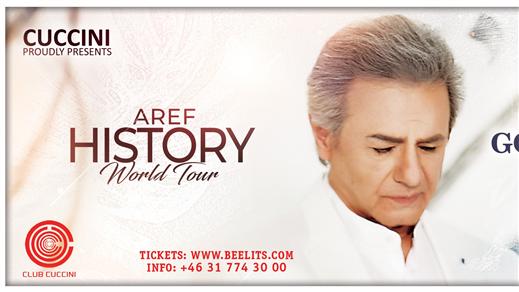 Bild för Aref History World Tour, 2018-12-14, Draken (M)