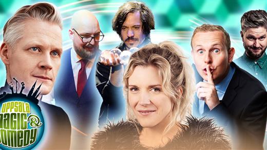 Bild för Uppsala Magic & Comedy: Galashow, 2021-04-10, UKK - Stora salen