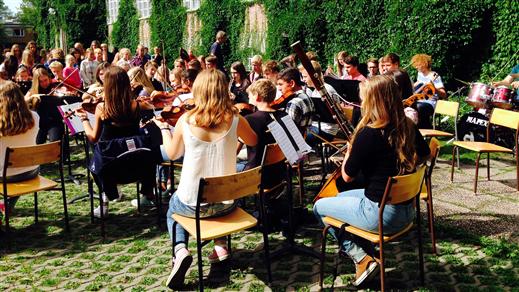 Bild för Vårkonsert Musikklassernas orkesterklasser 20.00, 2019-05-20, UKK - Sal B - Sittande onumrerat