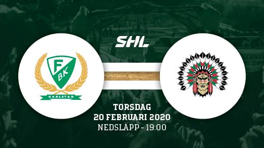 Bild för FÄRJESTAD BK - FRÖLUNDA, 2020-02-20, Löfbergs Arena
