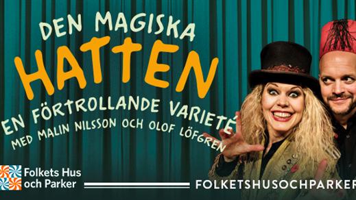 Bild för Den magiska hatten, 2019-07-02, Lilltorpet, Faluns Folkpark