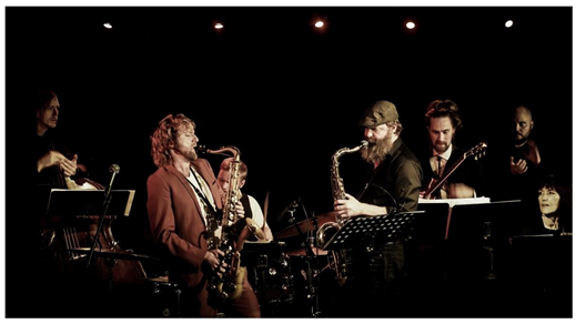 Bild för West Coast Big Band, 2018-05-31, Kvarterscenen 2lång