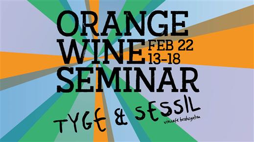 Bild för Orange Wine Seminar, 2020-02-22, Tyge & Sessil