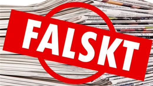 Bild för Föredrag: Fake news och den politiska debatten, 2018-10-09, Armémuseum