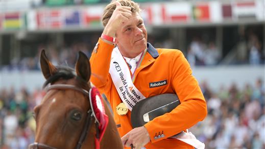 Bild för Breeders Trophy 5-års final Jeroen Dubbeldam, 2018-10-07, Stora Ridhuset i Flyinge