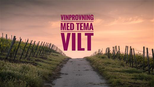 Bild för Vinprovning med tema VILT, 2021-11-12, Pensionat Järnavik