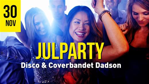 Bild för Julparty 30/11 Dadson & Disco, 2019-11-30, Torp
