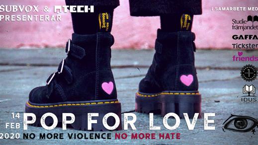 Bild för Pop For Love, 2020-02-14, Brewhouse
