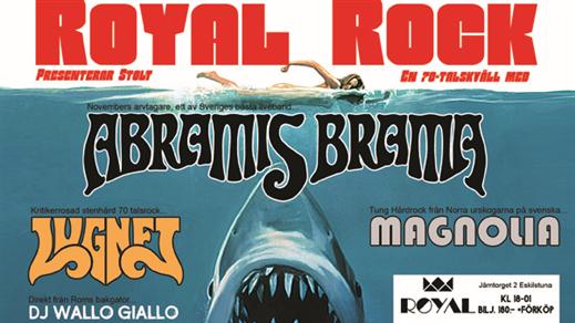 Bild för ROYAL ROCK - Abramis Brama, Lugnet, Magnolia, 2017-03-04, ROYAL-biografen & Biografbaren