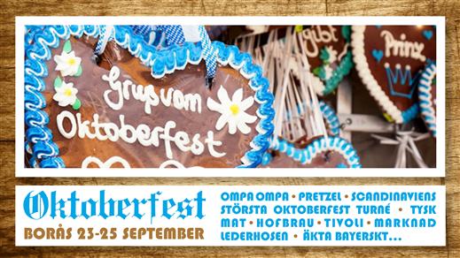 Bild för Oktoberfest Borås, 2016-09-23, Oktoberfest Borås Brodalsplan