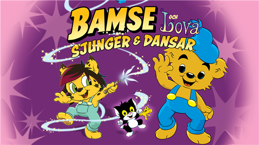 Bild för Bamse och Lova sjunger & dansar, 2019-05-19, Idun, Umeå Folkets Hus