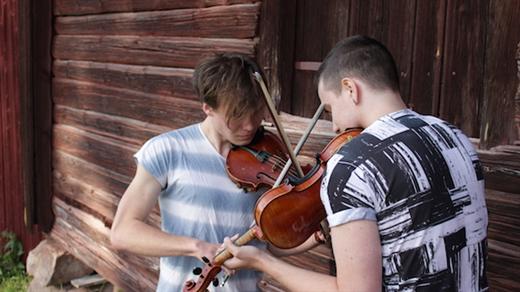 Bild för 170401 Olof Kennemark &  Pers Alexander Olsson, 2017-04-01, Stallet - Världens Musik
