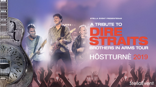 Bild för A Tribute To Dire Straits - Brothers In Arms Tour, 2019-11-16, Idun, Umeå Folkets Hus
