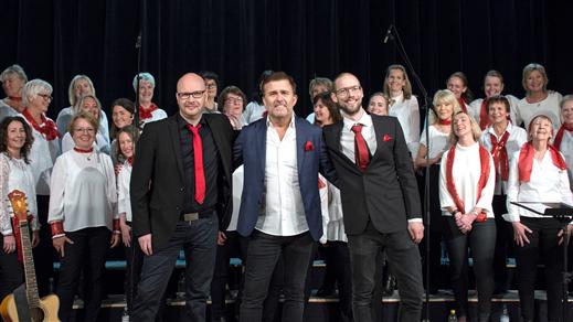 Bild för Jan Johansen och Körens Julkonsert, 2019-12-10, Oktoberteatern