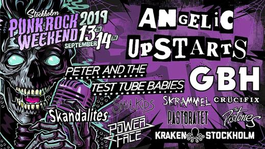 Bild för Stockholm Punk Rock Weekend - Weekend, 2019-09-13, Kraken STHLM