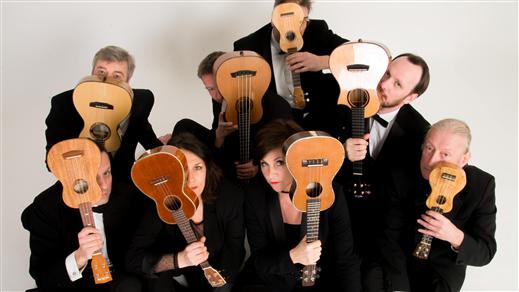 Bild för The Ukulele Orchestra of Great Britain, 2020-03-06, UKK - Stora salen