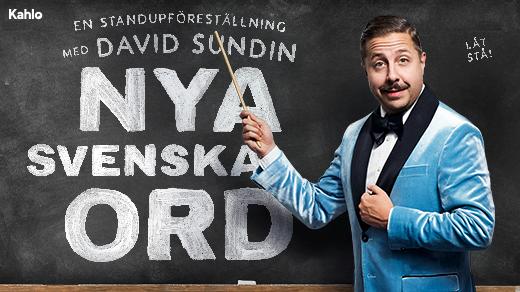 Bild för Nya Svenska Ord – David Sundin, 2020-11-08, Idun, Umeå Folkets Hus