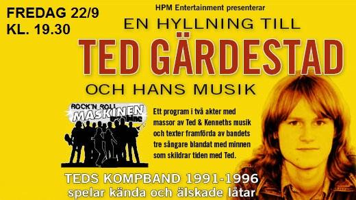 Bild för En Hyllning till Ted Gärdestad och hans Musik, 2017-09-22, Kramfors Teater