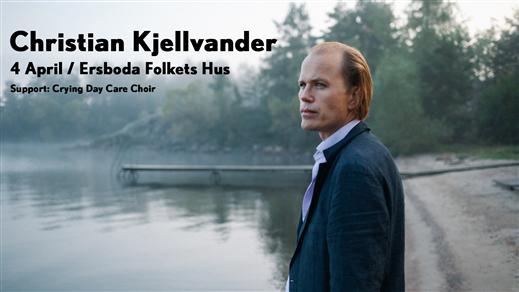Bild för Christian Kjellvander, 2020-04-04, Ersboda Folkets Hus
