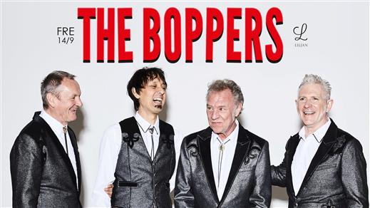 Bild för The Boppers på Liljan, 2018-09-14, Liljan