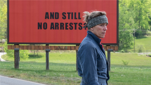 Bild för Three Billboards Outside Ebbing, Missouri (15år), 2018-01-16, Metropolbiografen