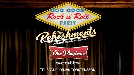 Bild för The Real R n´R Party - Refreshments & Playtones, 2019-08-02, Aneby Folkets Park