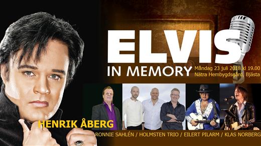 Bild för Elvis in Memory, 2018-07-23, Nätra Hembygdsgård