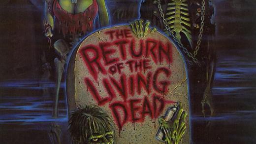 Bild för Return of the living dead (1985), 2018-02-13, Draken