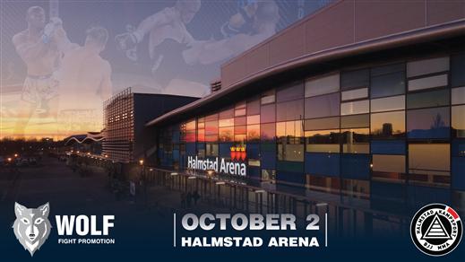 Bild för Wolf Fight Promotion 3, 2021-10-02, Halmstad Arena