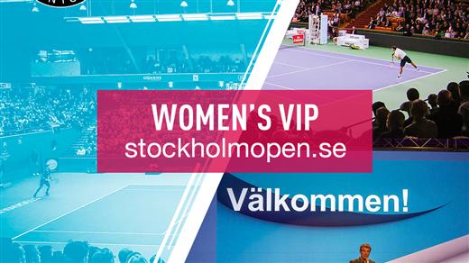 Bild för Women´s VIP Tisdag 16 okt, 2018-10-16, Kungl. Tennishallen