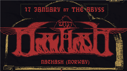 Bild för Nachash (NOR) + Stormdeath live at The Abyss, 2019-01-17, The Abyss Gothenburg