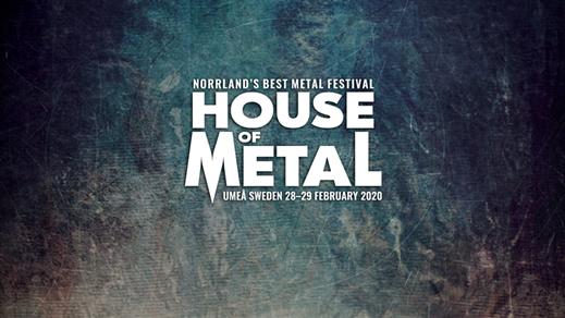 Bild för House of Metal 2020, 2020-02-28, Umeå Folkets Hus