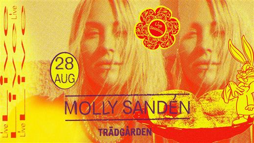 Bild för Live Sessions: Molly Sandén, 2019-08-28, Trädgården