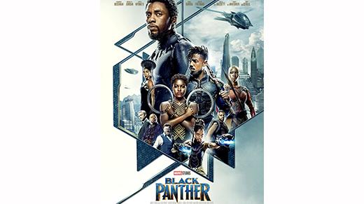 Bild för Black Panther (11 år), 2018-02-18, Biosalongen Folkets Hus