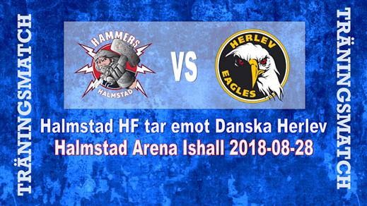 Bild för Träningsmatch Hammers vs. Herlev Eagles, 2018-08-28, Halmstad Arena