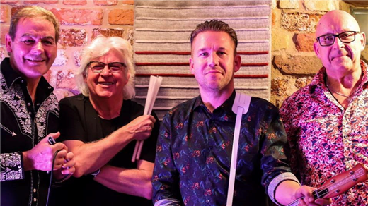 Bild för Red Hot & Blue + Steve Grahn, Mattias Malm & Cicci, 2019-12-20, Folk Å Rock