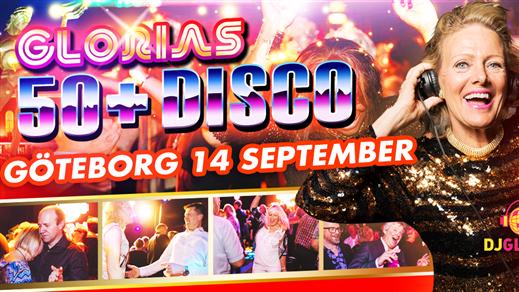 Bild för Glorias 50+ DISCO GÖTEBORG 14 sep 2018, 2018-09-14, Trädgår'n Nattklubb